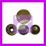 Bouton pression métal